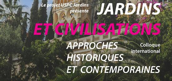 Colloque international «Jardins et civilisations»