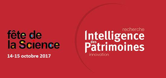 Intelligence des Patrimoines au Village des Sciences les 14-15 octobre 2017
