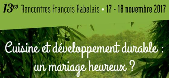 13ème édition des Rencontres François Rabelais