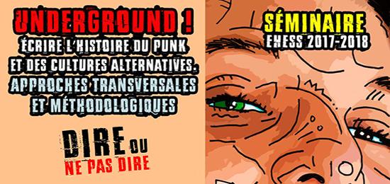 [PIND] Séminaire Underground ! Écrire l'histoire du punk et des cultures alternatives – Séance 4 – 17 mai 2018