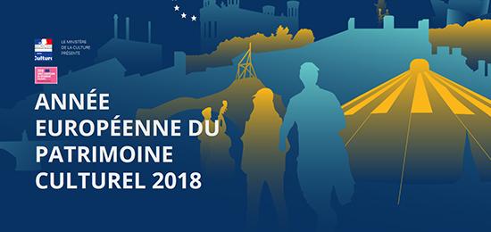 Intelligence des Patrimoines obtient le label «Année européenne du patrimoine culturel» pour sa programmation 2018