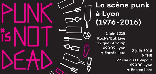 [PIND] Journée d'étude « La scène punk à Lyon (1976-2016) » — 2 juin 2018