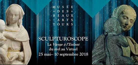 Exposition Sculpturoscope : la Vierge à l'Enfant, du réel au virtuel – du 25 mai au 10 septembre 2018