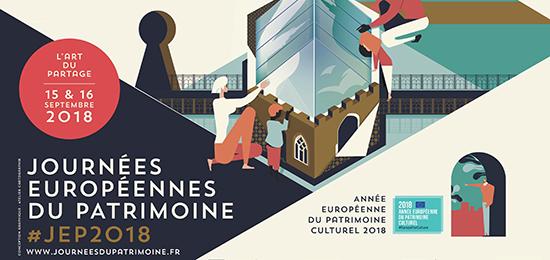 Journées Européennes du Patrimoine 2018 (samedi 15 septembre)