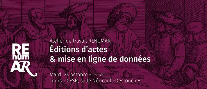 APPEL A COLLABORATION – Atelier de travail RENUMAR (23 octobre)