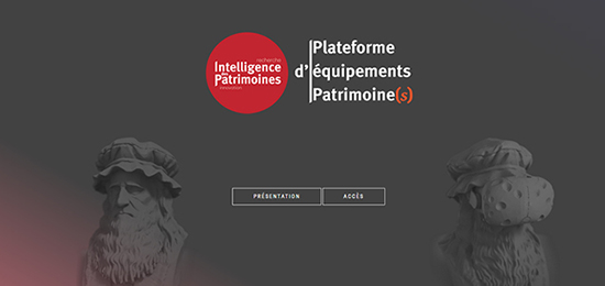 Plateforme d'équipements Patrimoines – Présentation des modalités d'utilisation