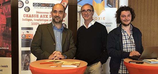 Les lauréats du Heritage Award à Orléans pour les Rencontres Régionales du Tourisme.