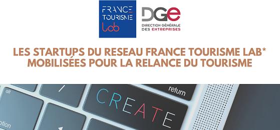 Mobilisation des start-up du réseau France Tourisme Lab pour la relance du tourisme