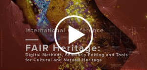 [Videos online] International Conference – FAIR Heritage (17th-18th June 2020, Virtual meeting)
