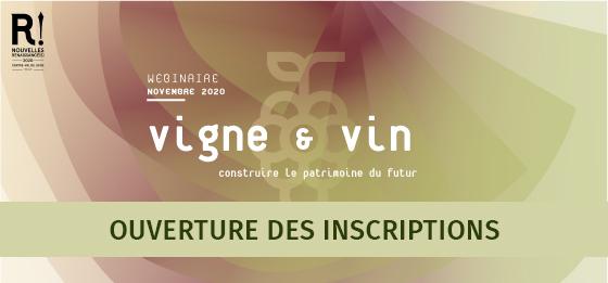 Webinaire Vigne & Vin – Ouverture des inscriptions (3, 10, 17 et 24 novembre 2020)