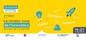 La quinzaine Innoversité by UT (16 -27 novembre 2020)