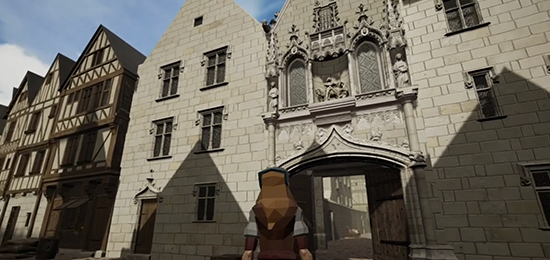 Tours VR – Virtual Renaissance, une immersion visuelle et sonore dans la ville de Tours à la Renaissance !