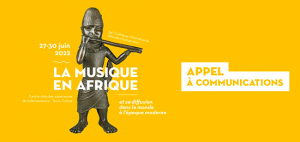 [Appel à communication] 64<sup>e</sup> Colloque international d'études humanistes du CESR : « La musique en Afrique et sa diffusion dans le monde à l'époque moderne » (26 février – 1<sup>er</sup> mai 2021)