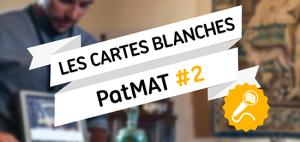 [REPLAY] Cartes blanches PatMAT #2 / Métiers du Patrimoine et mise en tourisme du territoire. Enjeux et perspectives (13 avril 2021)