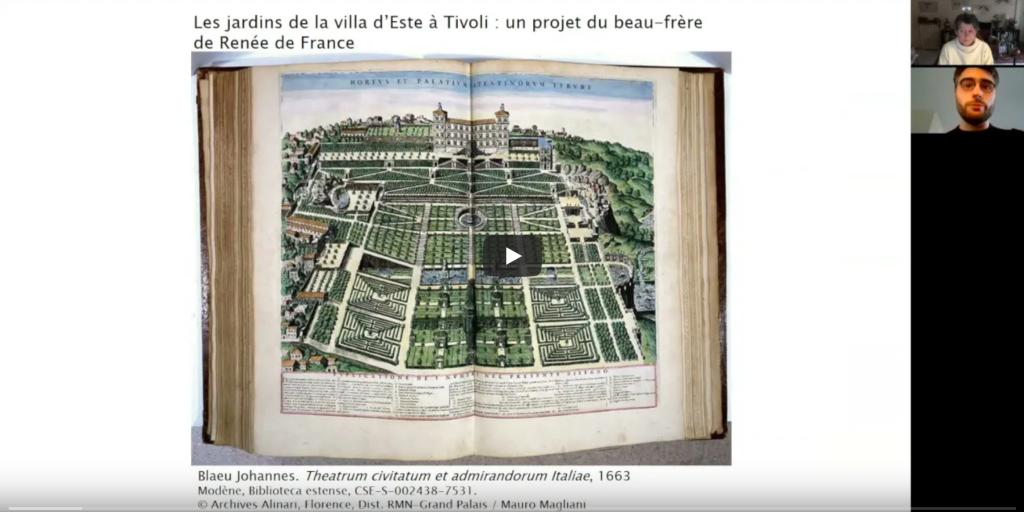 Les jardins duchâteau deMontargis : nouveau webmodule patrimonial de l'APJRC (avril2021)