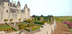 «Plongez au cœur des jardins d'un château de la Renaissance avec Montargis 3D !» un article de My Loire Valley (4 mai 2021)